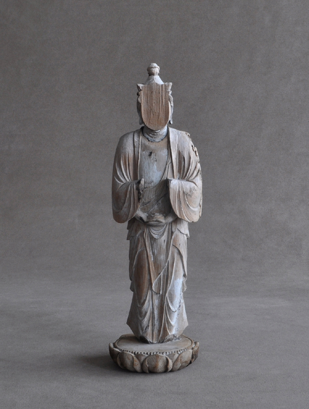 Thousand-armed Kannon Avalokiteshwara without arms and face